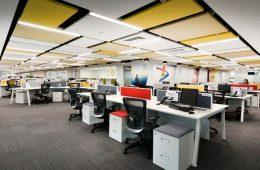 Ấn tượng với mẫu thiết kế văn phòng làm việc hiện đại