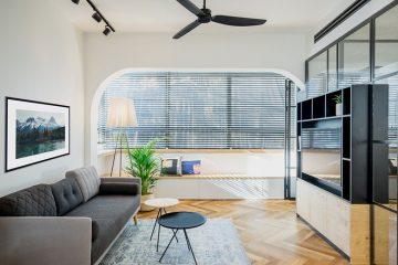 Thiết kế căn hộ chung cư 50m2