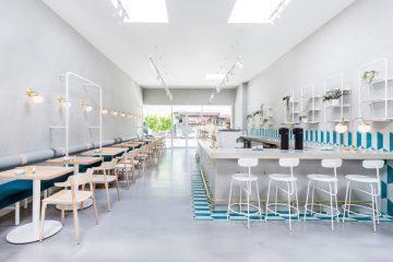 Thiết kế xây dựng tiệm đồ uống