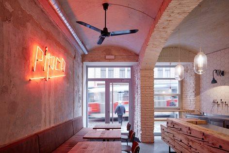 Độc đáo kiến trúc nhà hàng chuẩn châu Âu