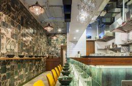 Ấn tượng mẫu thiết kế nhà hàng phong cách Hồng Kông