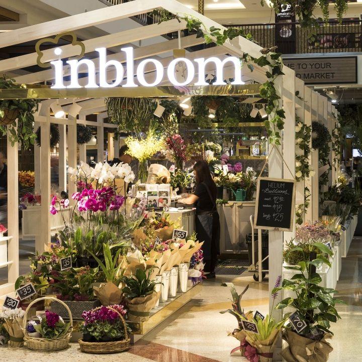 thiet ke shop hoa trong trung tam thuong mai