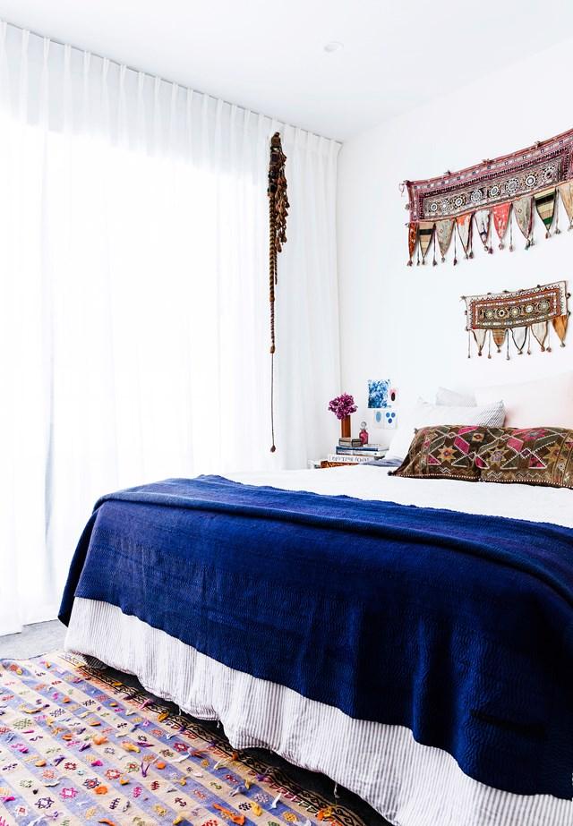 thiết kế phòng ngủ phong cách bohemian