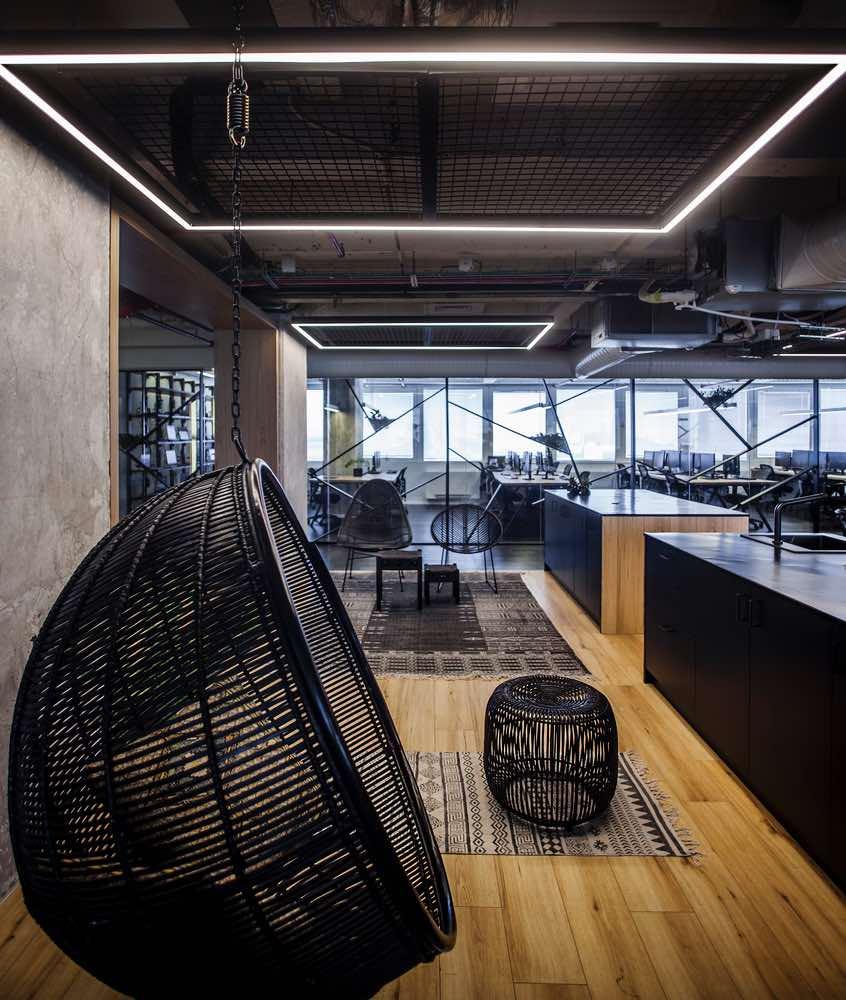 văn phòng phong cách hiện đại