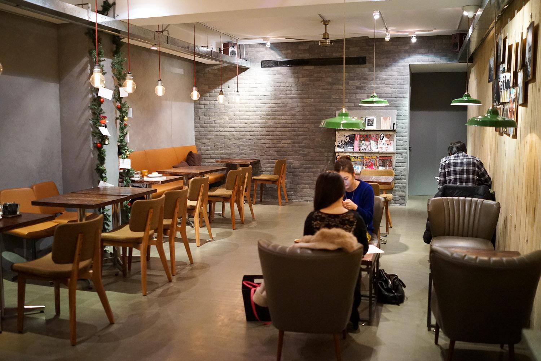 decor quán cà phê