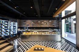 tiệm cafe bánh