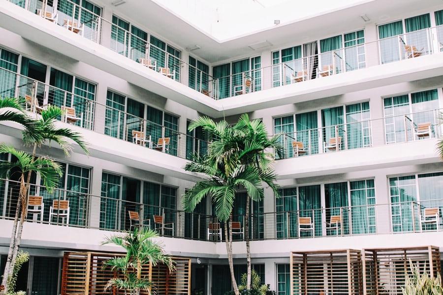 mẫu khách sạn đẹp