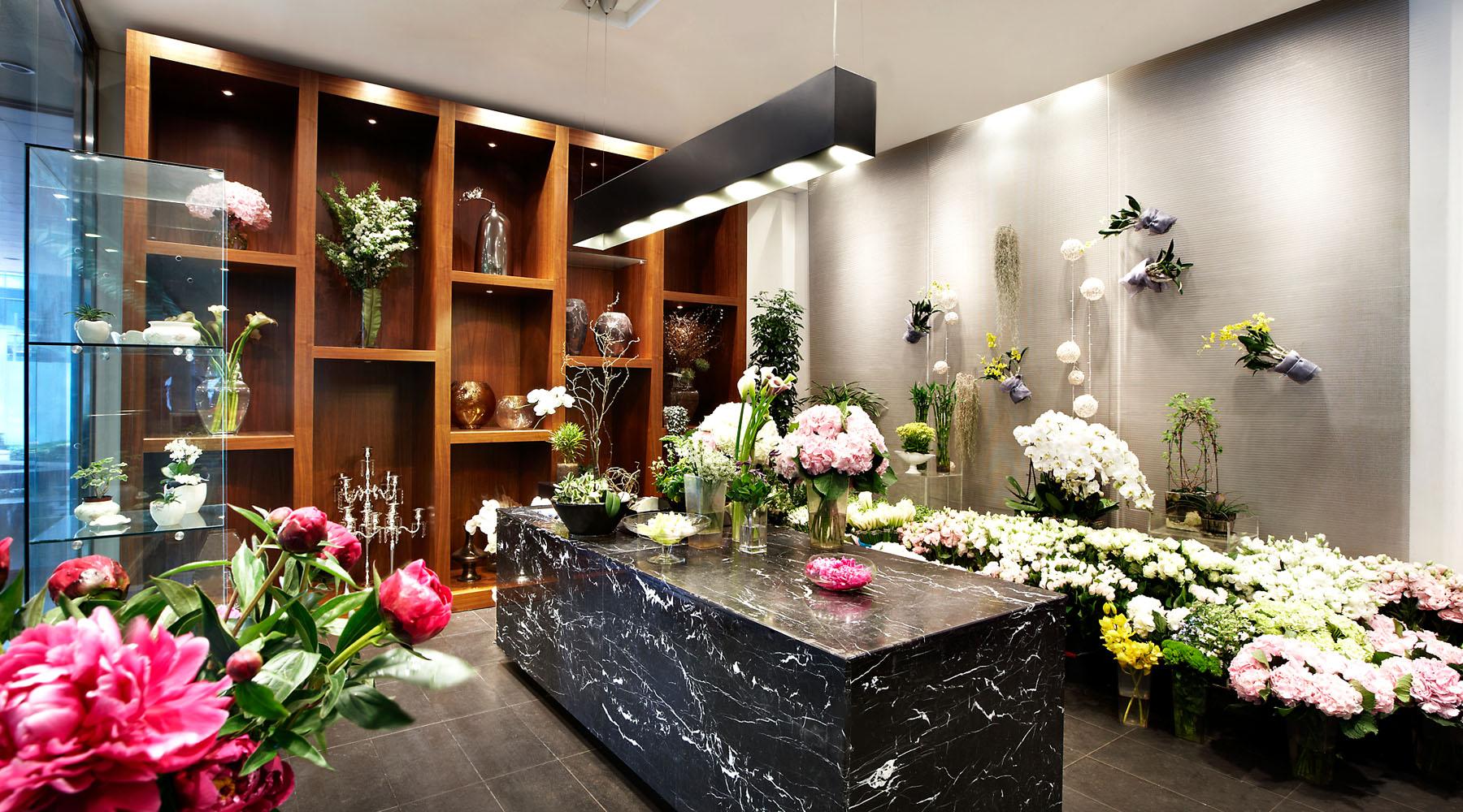 thiết kế shop hoa đẹp