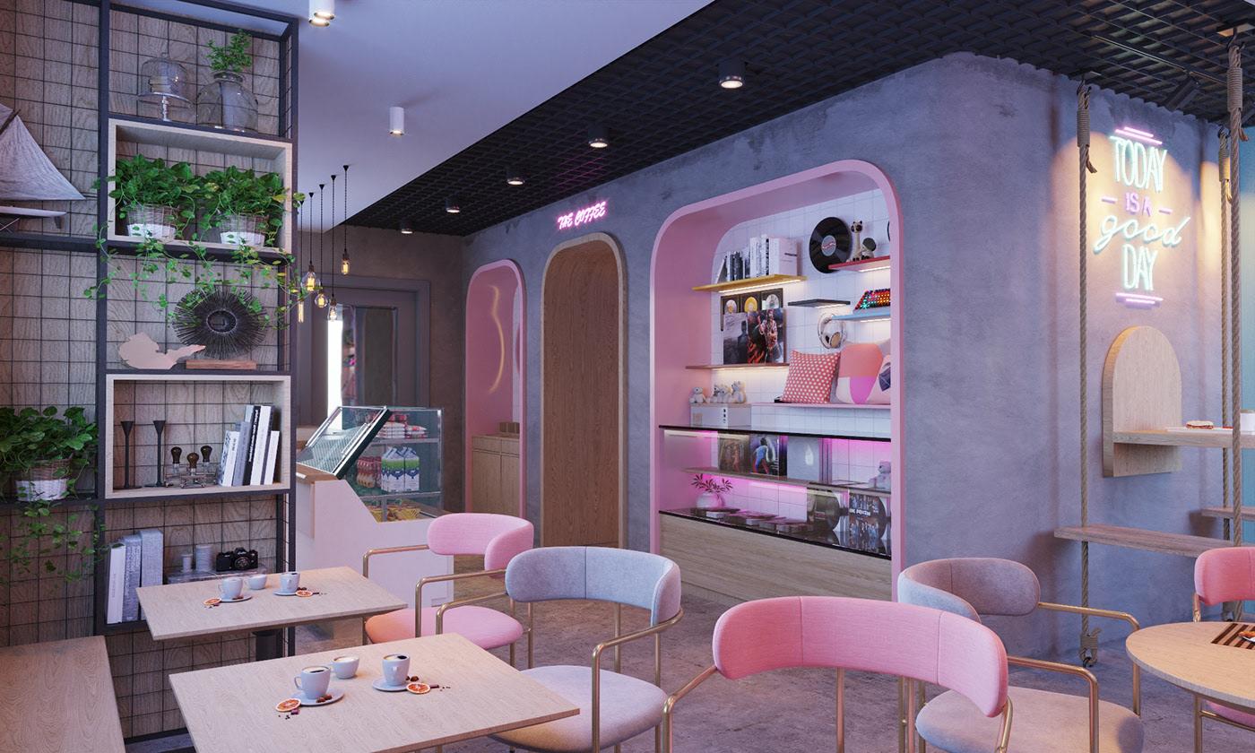 Thiết Kế Quán Cafe Ở Bình Thuận