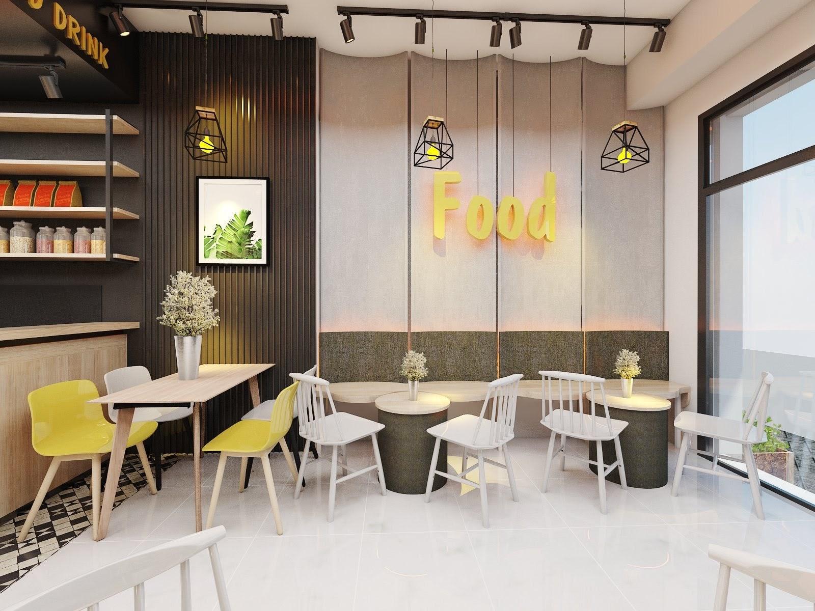 Thiết Kế Cafe Hà Tĩnh