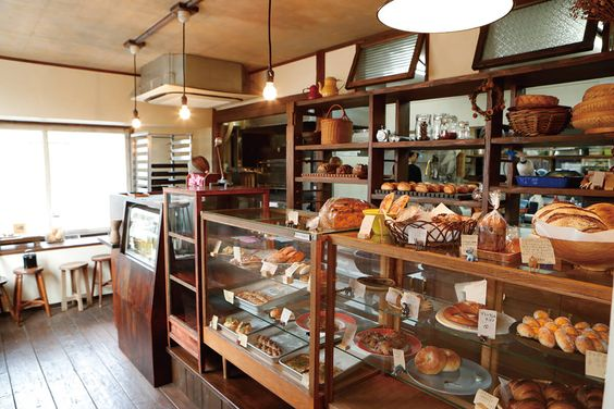 Tiệm Bánh Decor Phong Cách Nhật Bản